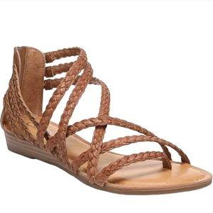 Carlos Santana Amara 2 Braided Strappy Sandals